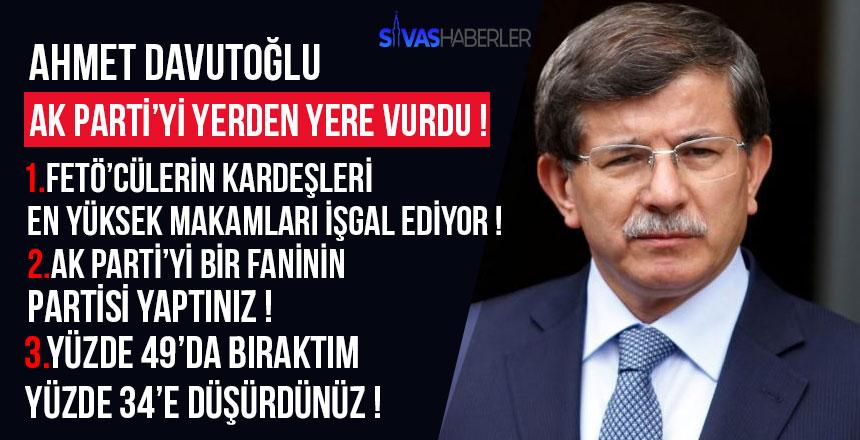 3 Yıl Sustum Diyen Ahmet Davutoğlu Artık Konuştu!