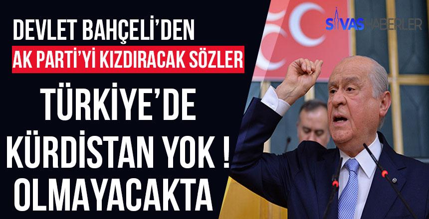 Devlet Bahçeli'den Ak Parti'ye sert eleştiriler