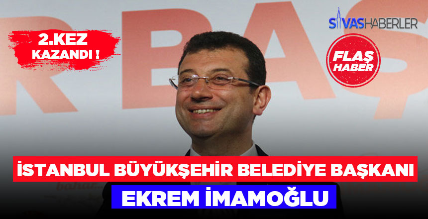 2.Kez İstanbul Büyükşehir Belediye Başkanı Ekrem İmamoğlu