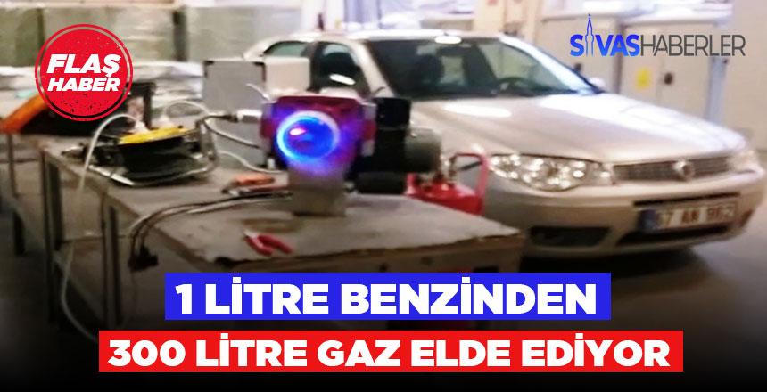 Müthiş buluş benzini gaza çeviriyor