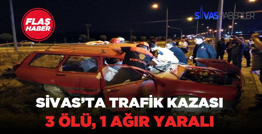 Sivas – Erzincan karayolu üzerinde trafik kazası