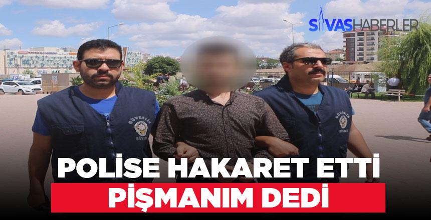 Sosyal medyadan polise hakaret hakim karşısında