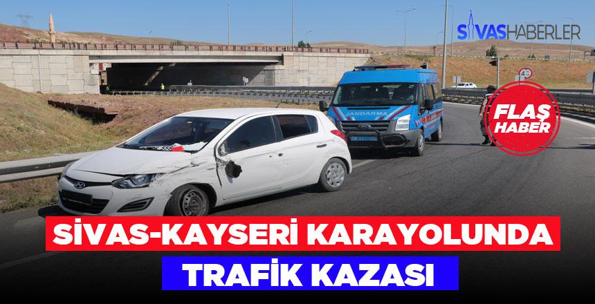 Sivas – Kayseri Karayolunda Trafik Kazası