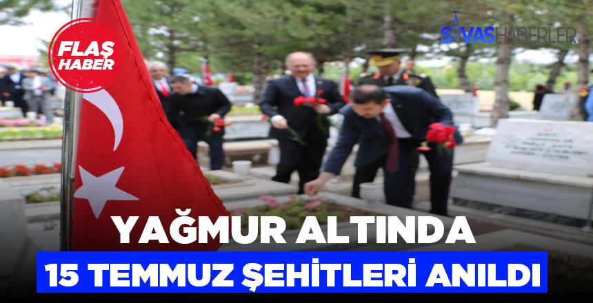 Sivas'ta 15 Temmuz Şehitleri Anıldı