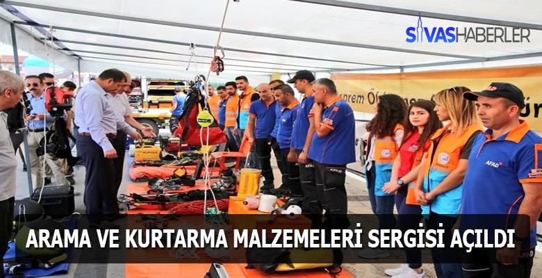 Sivas Kent Meydanına AFAD'tan müze açılışı