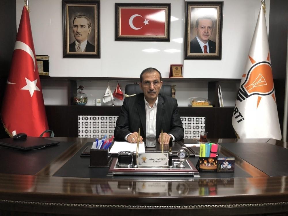 """Başkan Dağtekin: """"Türkiye sevdasıyla yaşımız hep 18"""""""