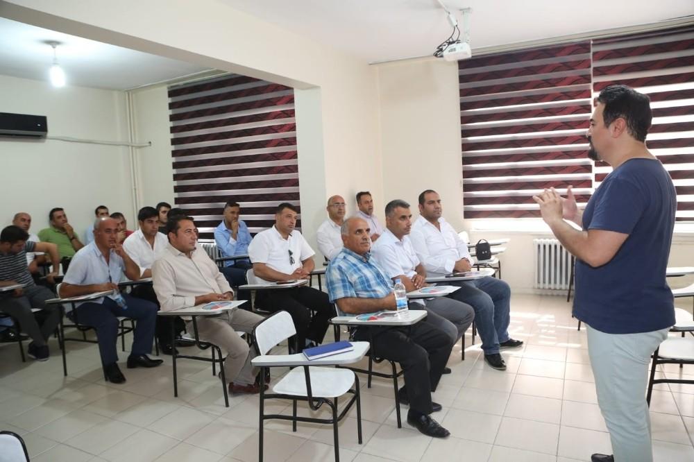 Elazığ'da şoförlere AB standartlarında eğitim