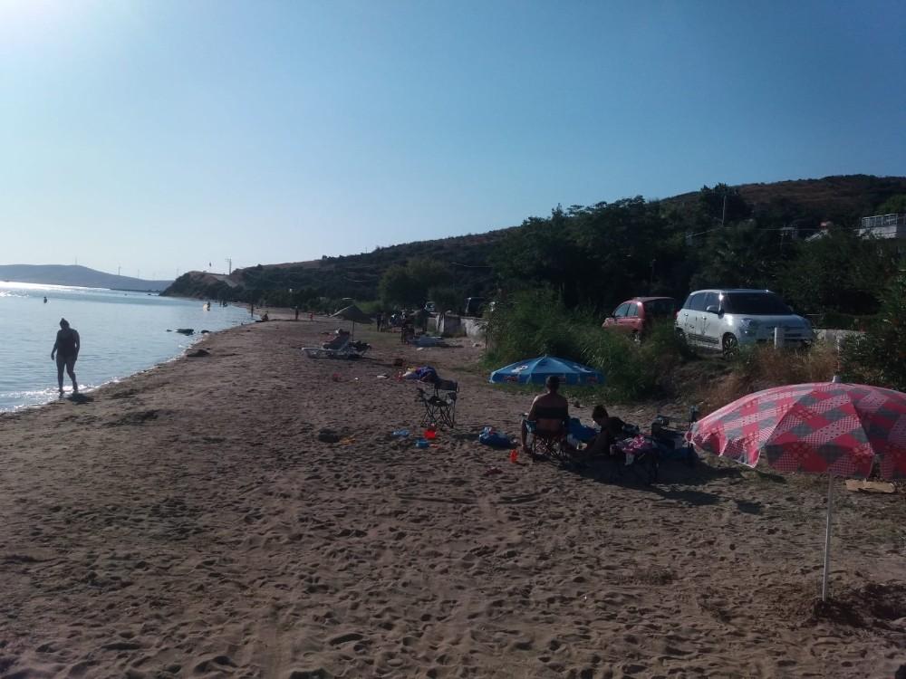 Erdek'te çadırlar kaldırıldı