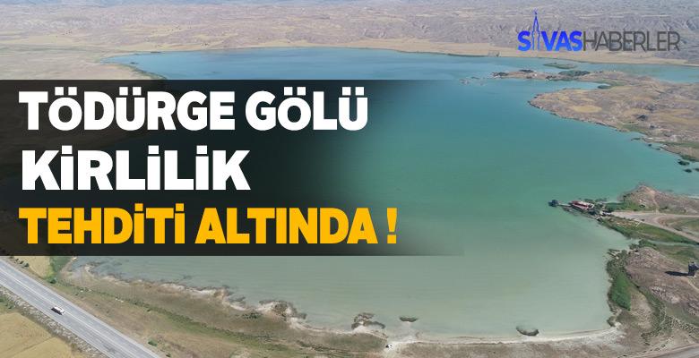 Tödürge Gölü kirleniyor, çözüm bulunmalı !