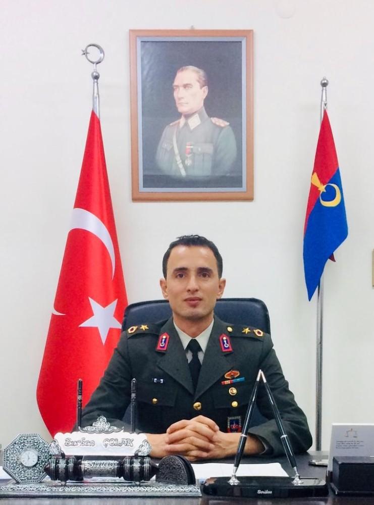 Gürün ilçe Jandarma komutanı terfi etti