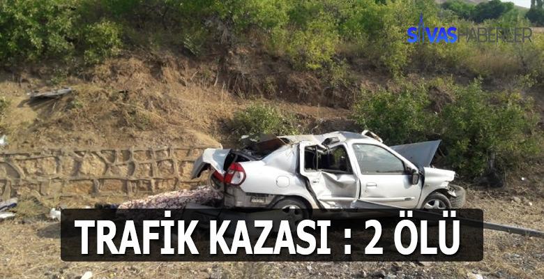 Sivas Akıncılar'da ölümlü trafik kazası