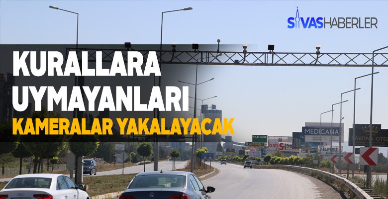 KGYS ile Sivas'ta kurallara uymayanlara cezalar kesiliyor