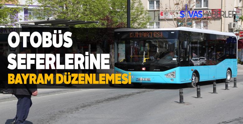 Bayram için otobüs seferleri yeniden düzenlendi