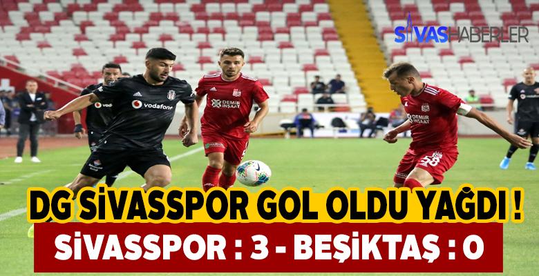 Sivasspor, Beşiktaş karşısında lige zaferle başladı !