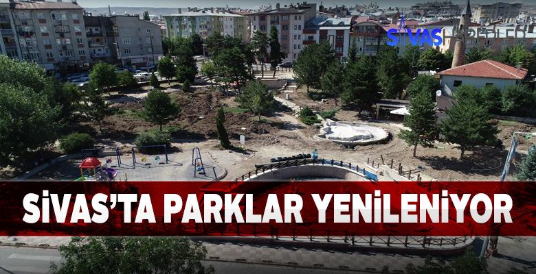 Mahalle ve bölge parkları yenileniyor
