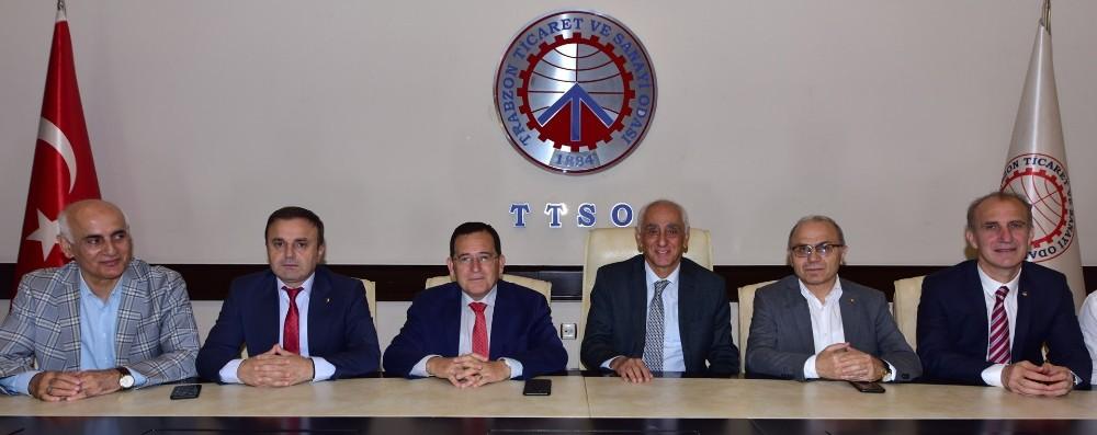 """TTSO Yönetim Kurulu Başkanı M.Suat Hacısalihoğlu; """"Ortalama bir ayda 150 bin Arap misafir bölgemize geliyor, üç aylık dönemde 450-500 bin turist yapıyor"""""""