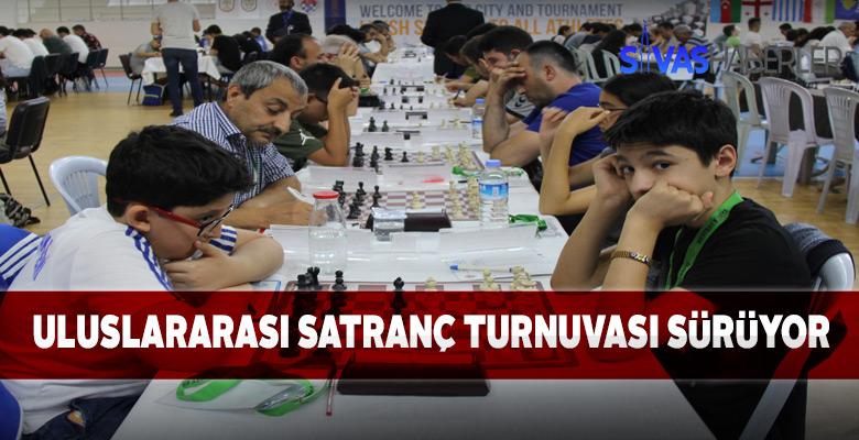 Uluslararası Satranç turnuvası Sivas'ta sürüyor