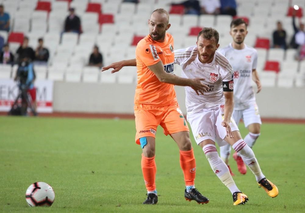 5.kez Sivasspor ve Alanyaspor karşı karşıya