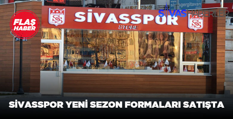 Sivasspor'un yeni formaları satışa sunuldu