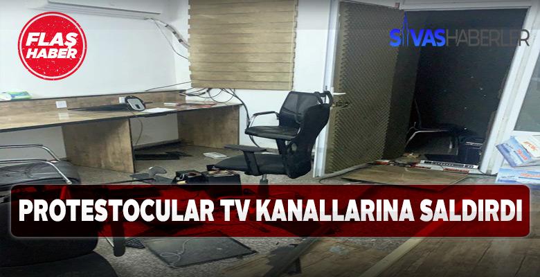 TV Kanallarına saldırılar başladı o Ülkede ne oluyor?