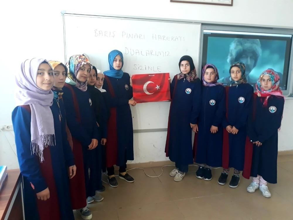 Sivas Ulaş'taki okullarda Fetih Süresi okundu