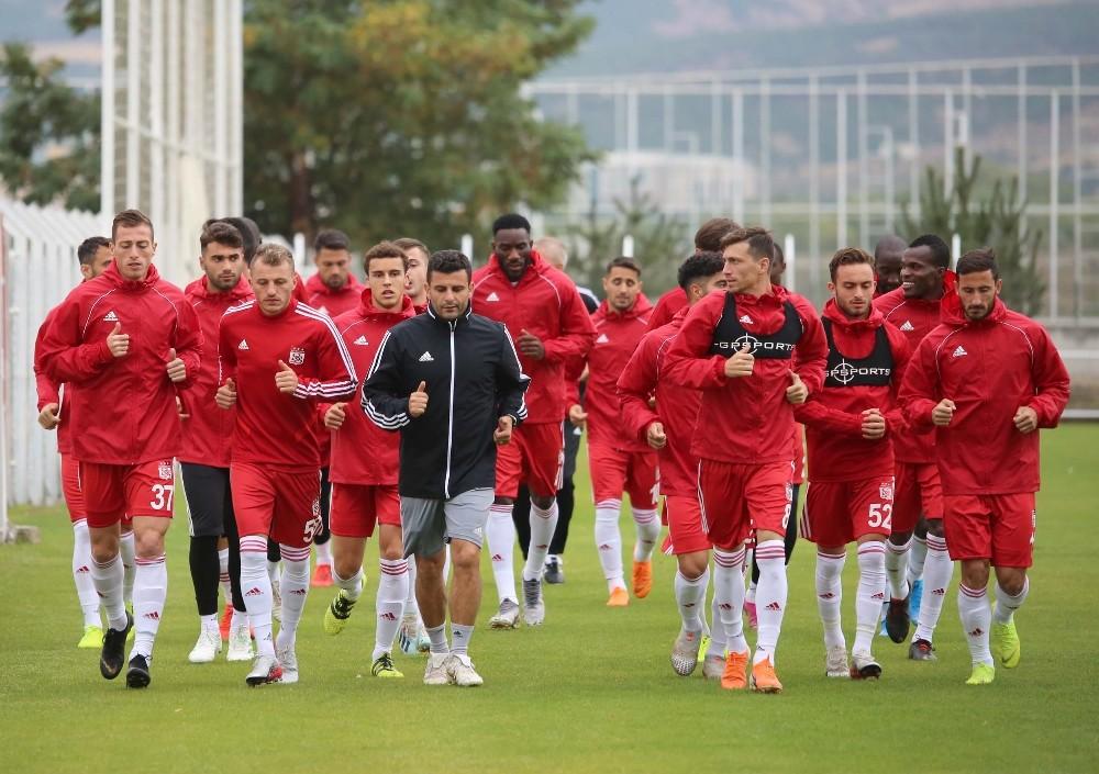 Sivasspor'da Galatasaray maçının hazırlıkları başlıyor