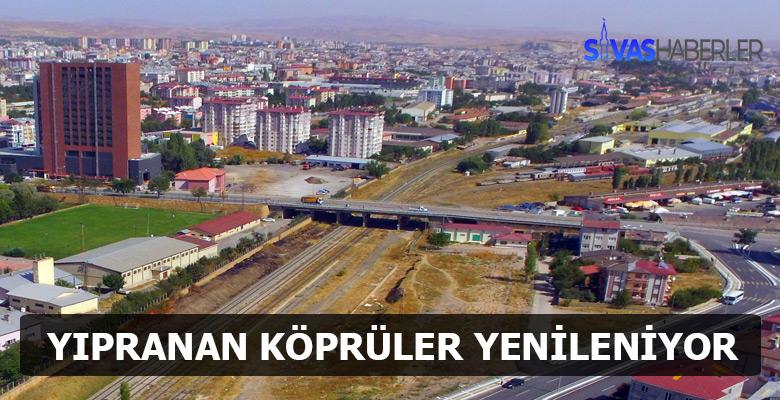 Sivas'taki Köprüler Yenileniyor