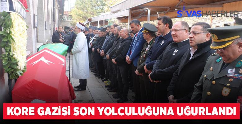 Sivas'lı Kore Gazisi Toprağa verildi