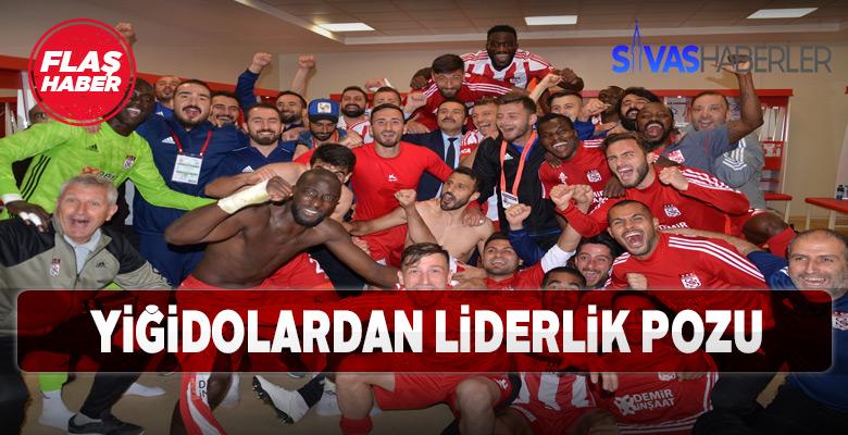Sivasspor'dan Liderlik pozu