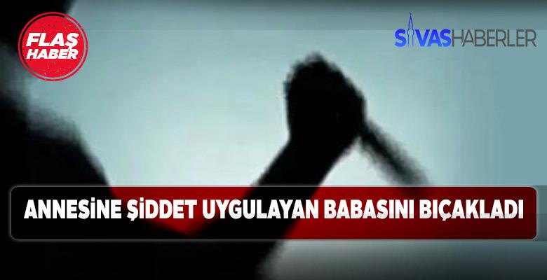 Sivas'ta babasını yaralayan genç serbest bırakıldı