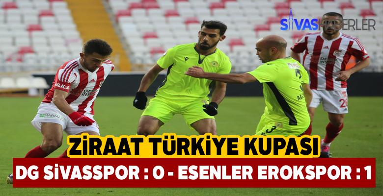 Sivasspor Ziraat Türkiye Kupasında tur atladı