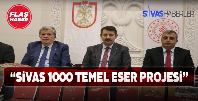 Sivas'ta yeni basımı yapılan 8 Eser tanıtıldı