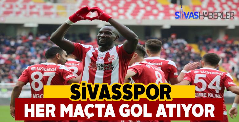 Sivasspor attığı gollerle konuşuluyor