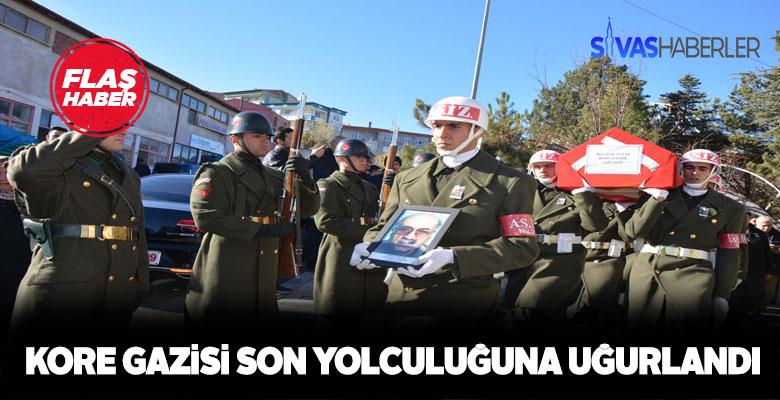 Kore Gazisi Sivas'ta vefat etti