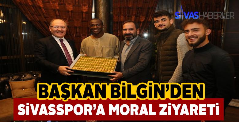 Belediye Başkanından Sivasspor'a moral ziyareti