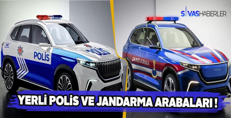 Yerli ve Milli Polis ile Jandarma Arabaları