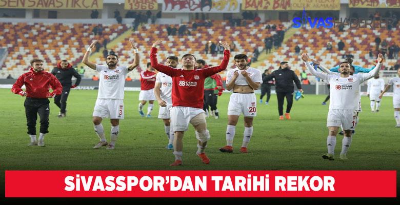 Sivasspor Tarihinde rekor galibiyet sayısı