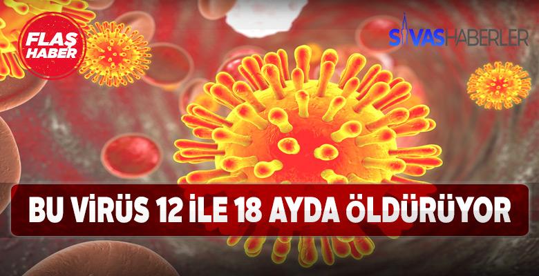 HIV 12-18 ayda öldürüyor!