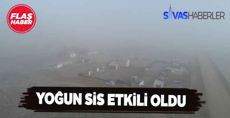 Sivas'ta göz gözü görmüyor