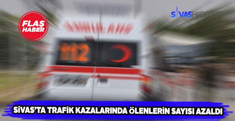 Sivas'ın trafik kazası karnesinde büyük gelişme