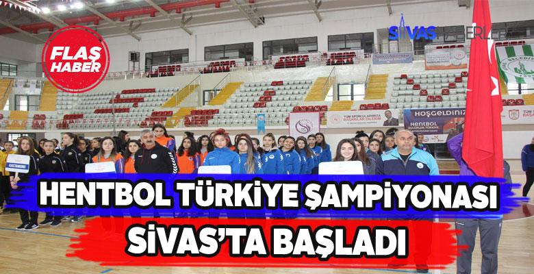 Sivas Hentbol Türkiye Şampiyonasına ev sahipliği yapıyor