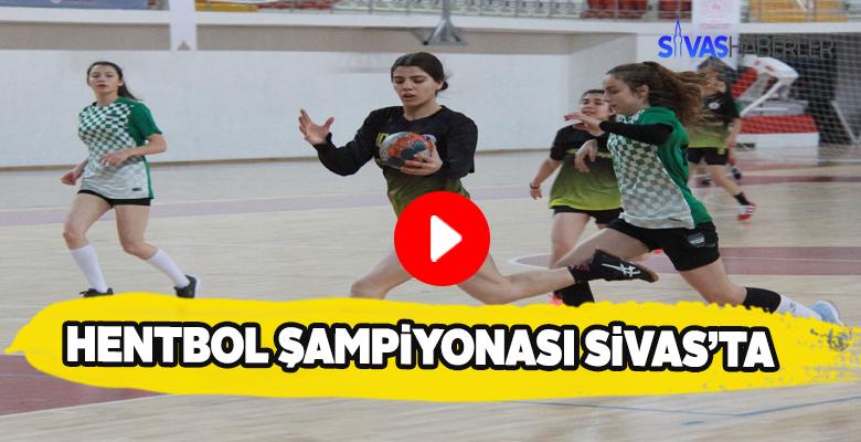 Sivas'ta Hentbol Türkiye Şampiyonası maratonu başladı
