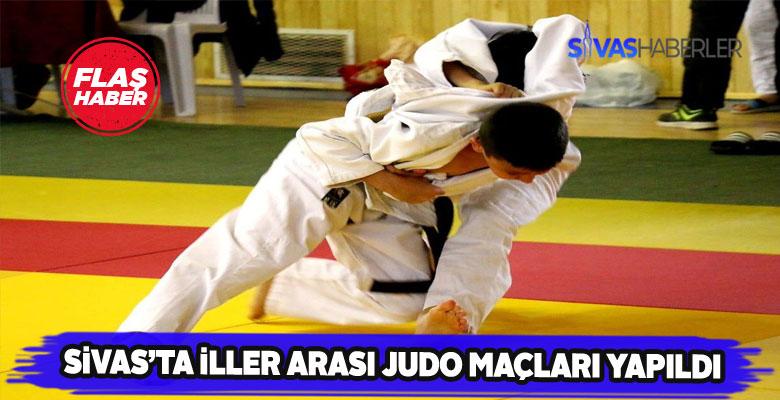 Sivas'ta düzenlenen Judo Şampiyonası sona erdi