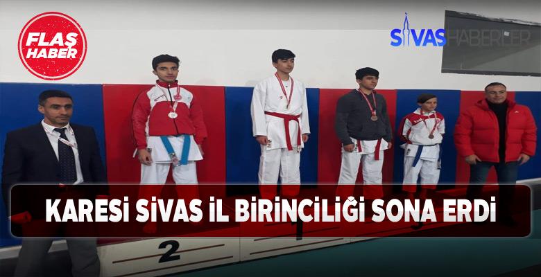 120 genç karateci il birinciliği için dövüştü