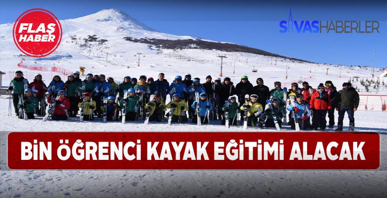 Sivas'ta öğrencilere kayak eğitimi seferberliği başlıyor