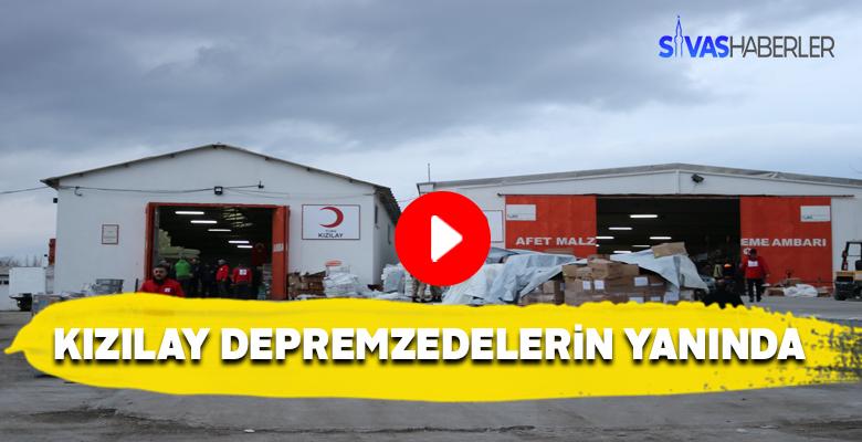 Türk Kızılayı Elazığlı depremzedeleri 3 öğün yediriyor