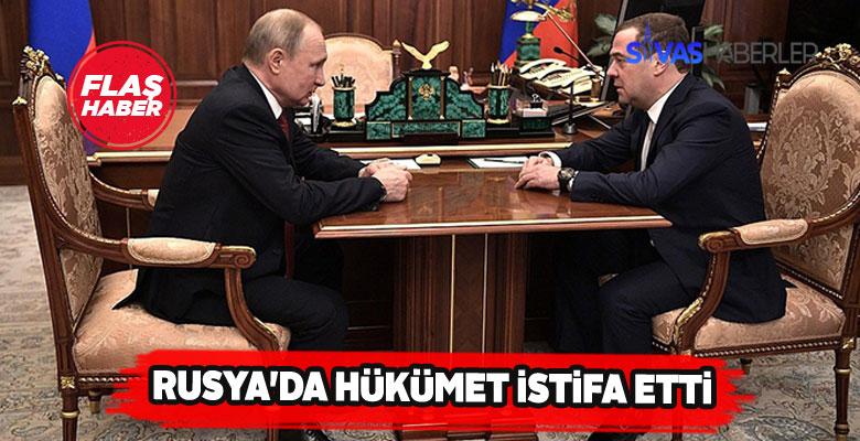 Rusya Başbakanı Medvedev'den İstifa Açıklaması