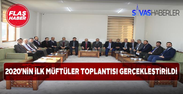 Sivas'ta müftüler biraraya geldi