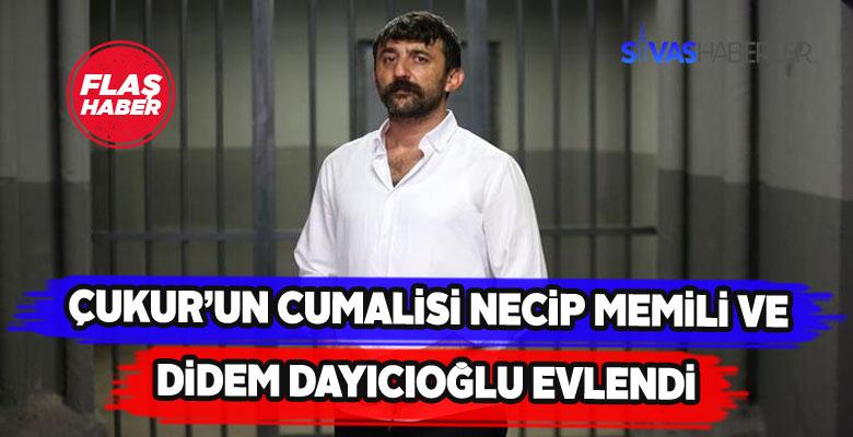 Didem Dayıcıoğlu ile Necip Memili hayatlarını birleştirdi