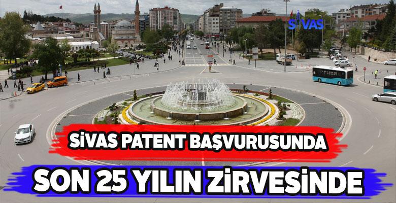 Sivas'tan yapılan patent başvuruları rekor kırdı